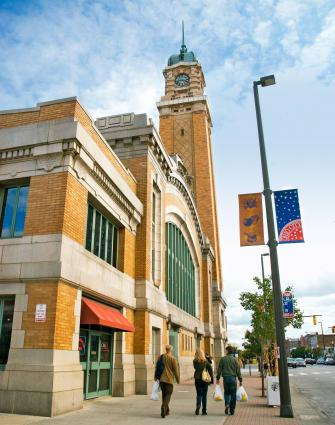Cleveland's West Side Market is open year-round.