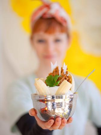 Jeni's Splendid Ice Creams sundae
