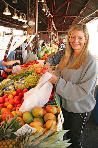 Soulard Farmers Market.