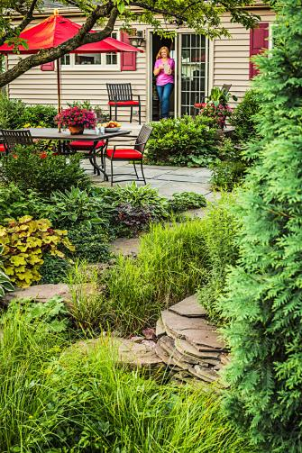 Garden Tour: Backyard Rain Garden | Midwest Living