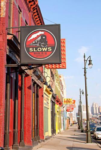 Corktown. Detroit, Michigan.