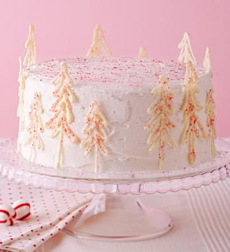 Peppermint Forest Cake