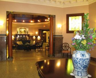 Hotel Winneshiek. Photo by Lisa Meyers McClintick.