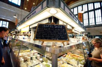 West Side Market. Photo courtesy of Larry E. Highbaugh Jr.