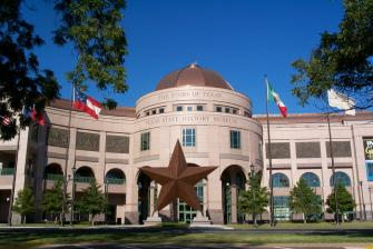 Texas State History Museum. Photo Courtesy of Austin Convention and Visitors Bureau.