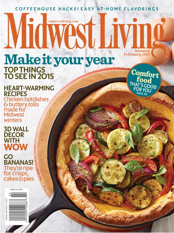 February 2015 Recipes >> Midwest Living January February 2015 Issue Midwest Living
