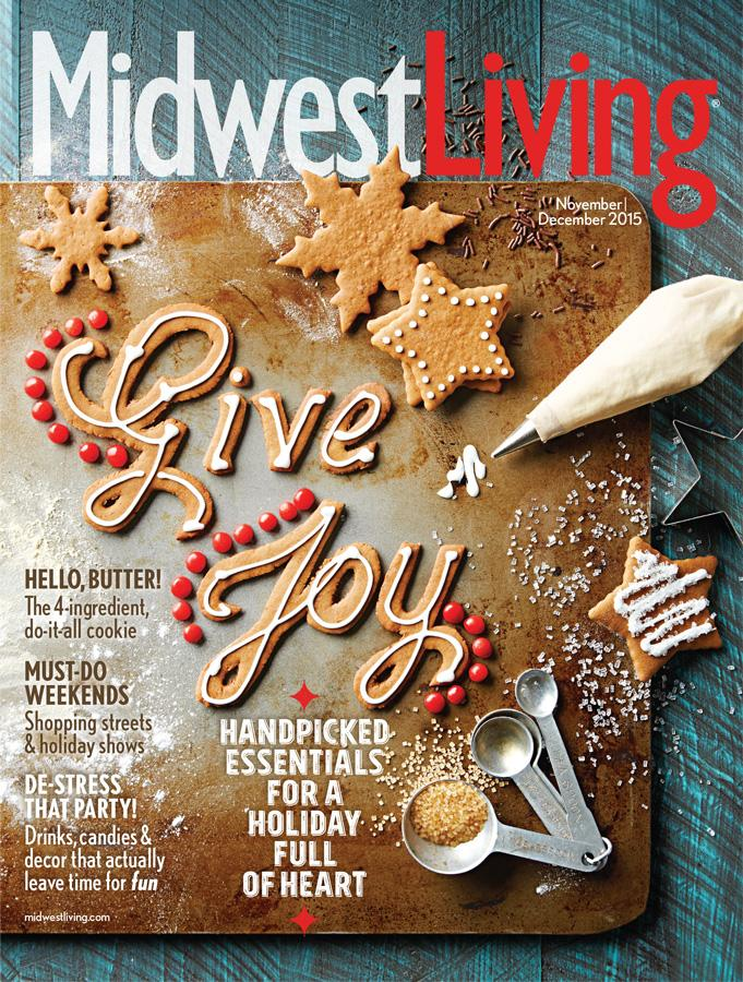 midwest living november december 2015 issue midwest living