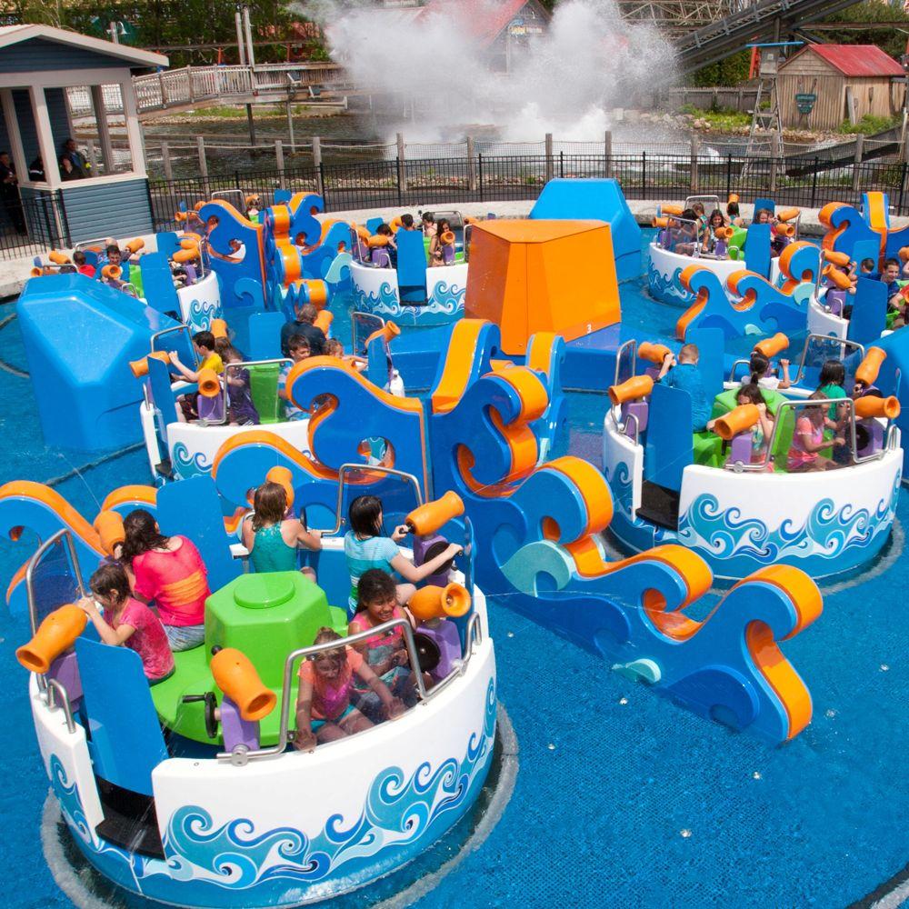 Six Flags Tsunami Soaker