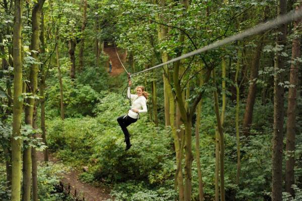 Go Ape Zipline and Treetop Adventure