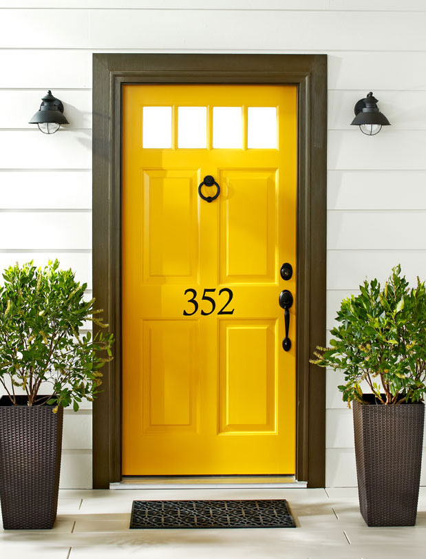 Easy Front Door Makeover