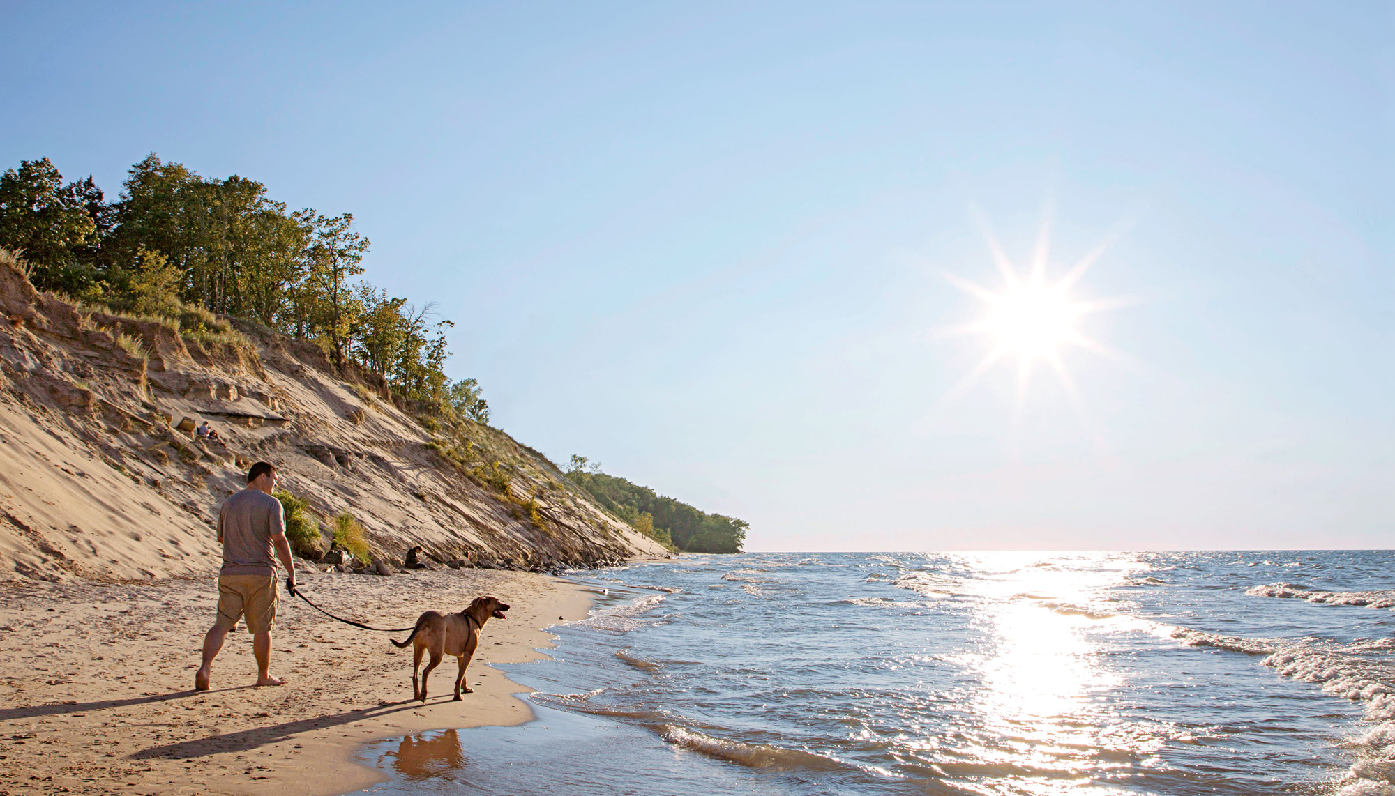 For A Less Vertical Feat Walk The Series Of Beaches Combined With Indiana Dunes State Park They Cover Nearly 25 Miles Nps Gov Indu In Dnr