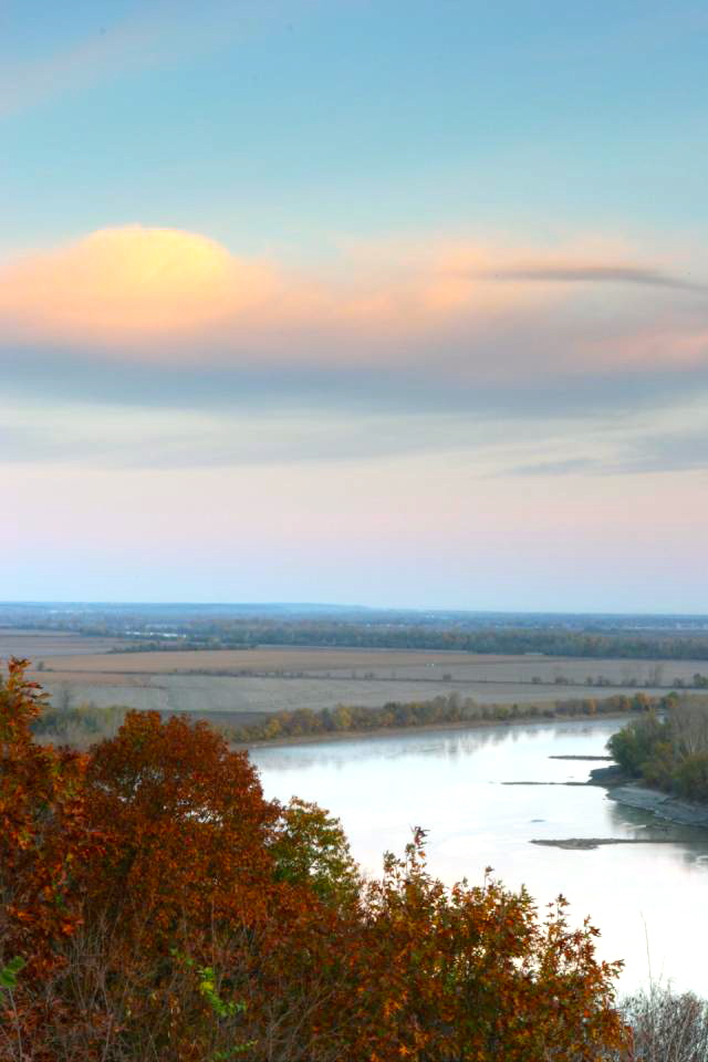 Missouri River At White Cloud