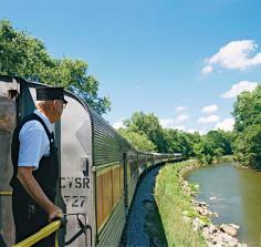 Cuyahoga Valley National Park train