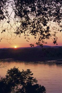 Sunset near Hermann