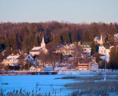 Door County in winter