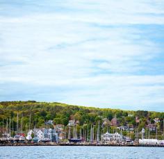 Bayfield's marina.