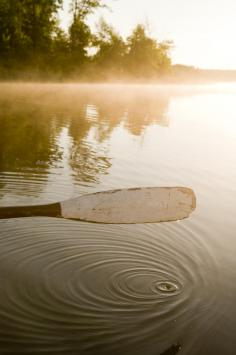 You can't have a motor throughout most of Boundary Waters Canoe Area Wilderness, along the Minnesota- Canada border, so the best way to get around involves a paddle.