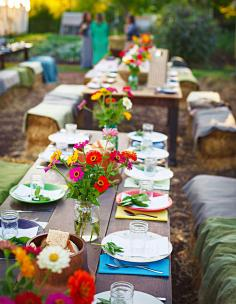 Dishes served at Urban Roots Farm's annual dinner are simply seasoned, so the flavors of fresh herbs, veggies and honey shine.
