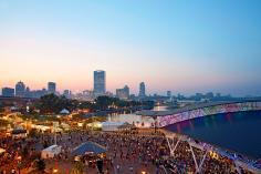 Summerfest at Henry Maier Festival Park on the Milwaukee Lakefront.