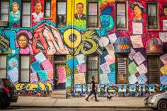 West Cullerton Street mural
