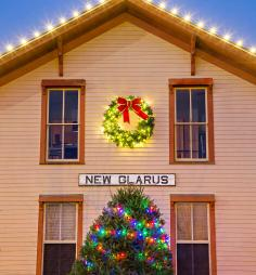 In the tiny southern Wisconsin town of New Glarus, you may have quaint shops largely to yourself on winter weekdays.