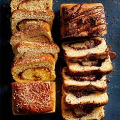 Chocolate-Brioche Swirl Loaf