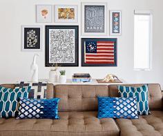 Carpenter home—living room