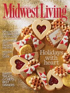 Midwest Living Nov-Dec 2014 cover.