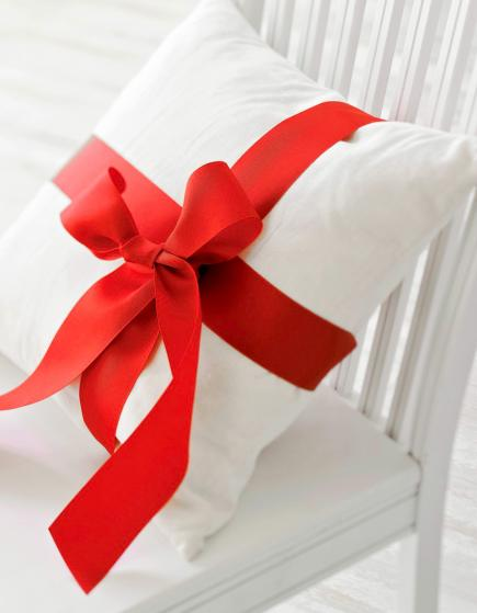 Wrapped pillows