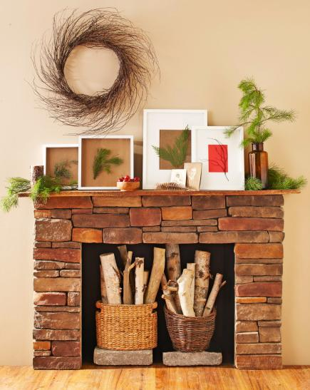 Christmas mantel decorating ideas