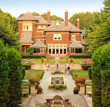 Columbus, Indiana: The Inn at Irwin Gardens