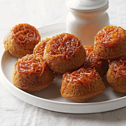 Carrot And Honey Upside Down Minis