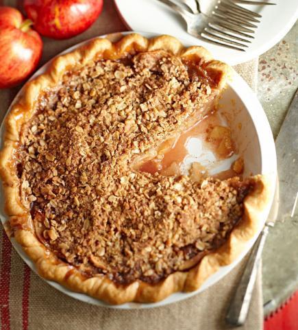 Crumb-Topped Apple Pie Trio