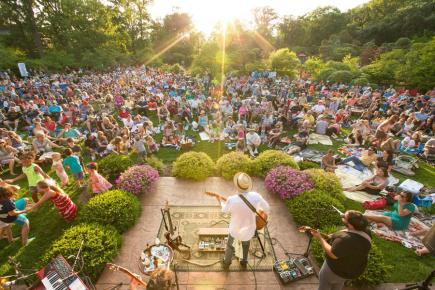 Rockford outdoor concert