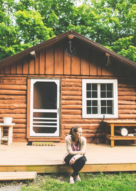 Tammy Bashore cabin