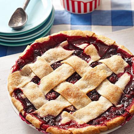 Very Berry Triple Fruit Pie