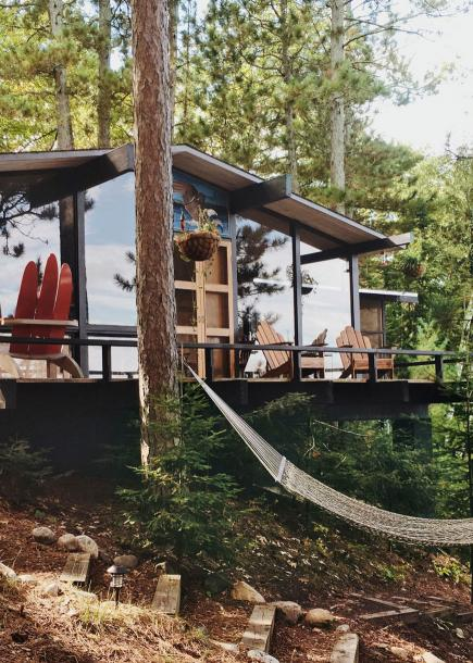 Caitlin Abrams cabin