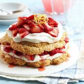Pink Lemonade Strawberry Shortcake